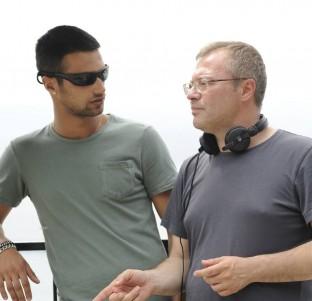 Daniel Monzón y Jesús Castro