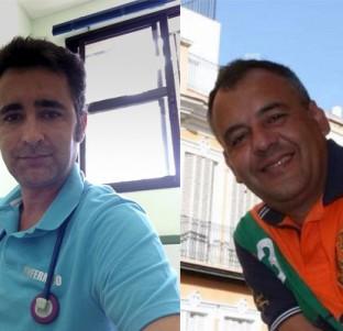 Dos voluntarios de Cruz Roja cuentan sus vivencias el 14-N