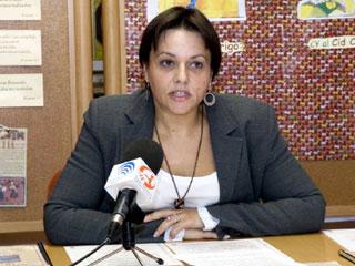 Candidata de IU por Benalmádena