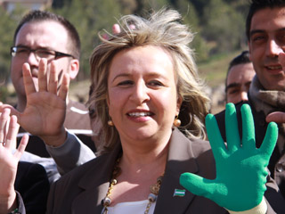 Candidata del PA por Málaga